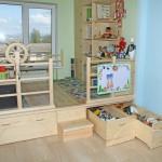 кровать подиум в детскую пример работы мастера