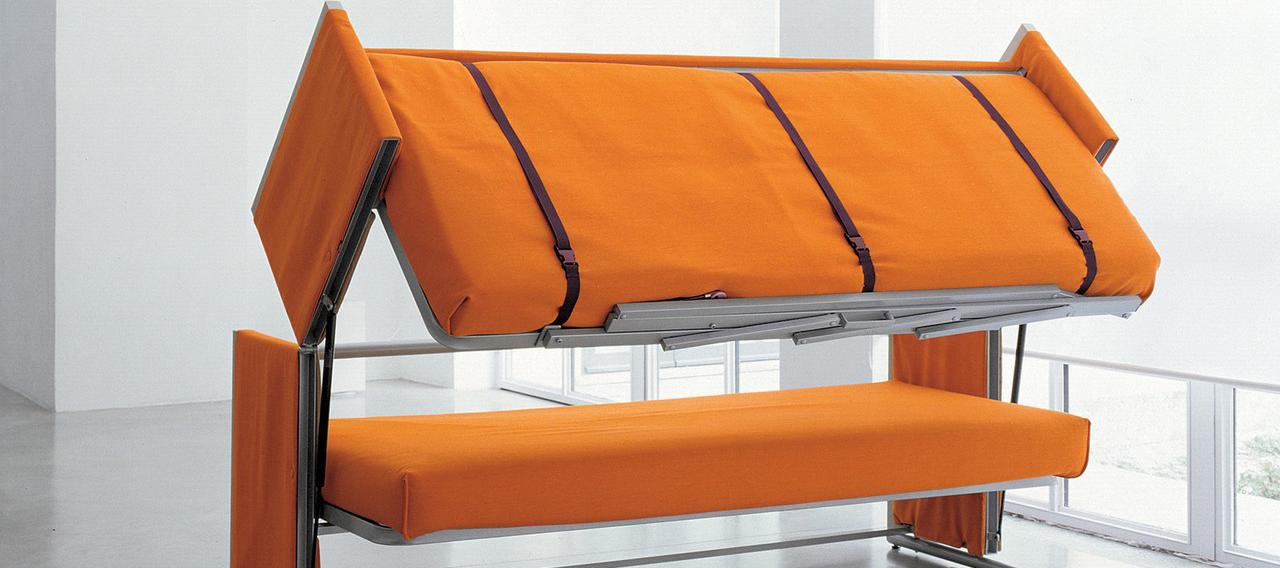 Двухъярусные кровати-трансформеры: чудесное преобразование пространства