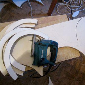 процесс изготовления кровати машинки 1