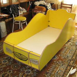 Кроватки машины своими руками