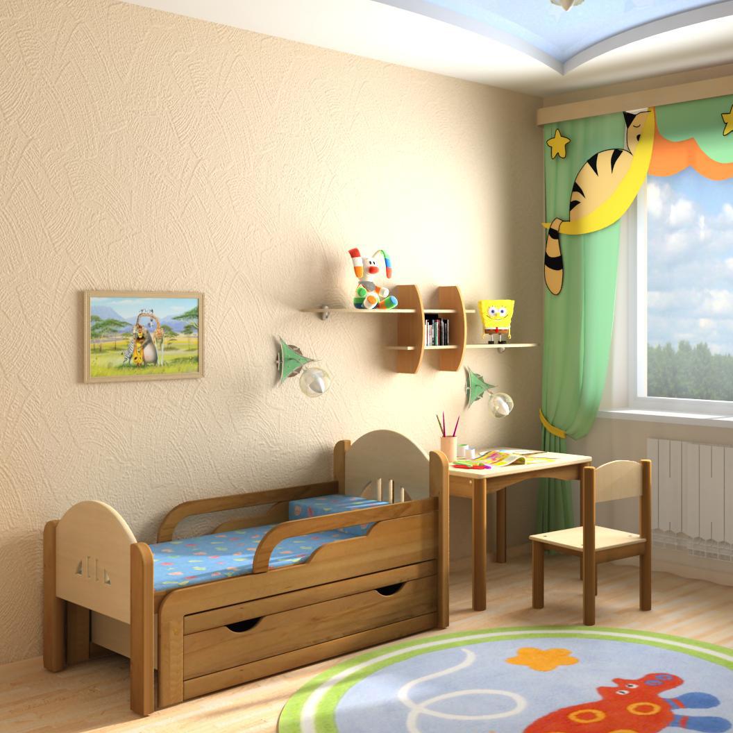 раздвижная кровать детская фото