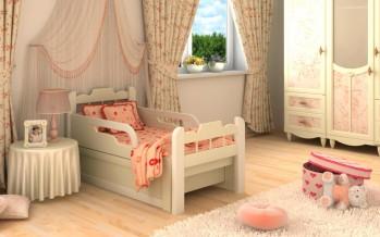 разновидности детских раздвижных кроватей