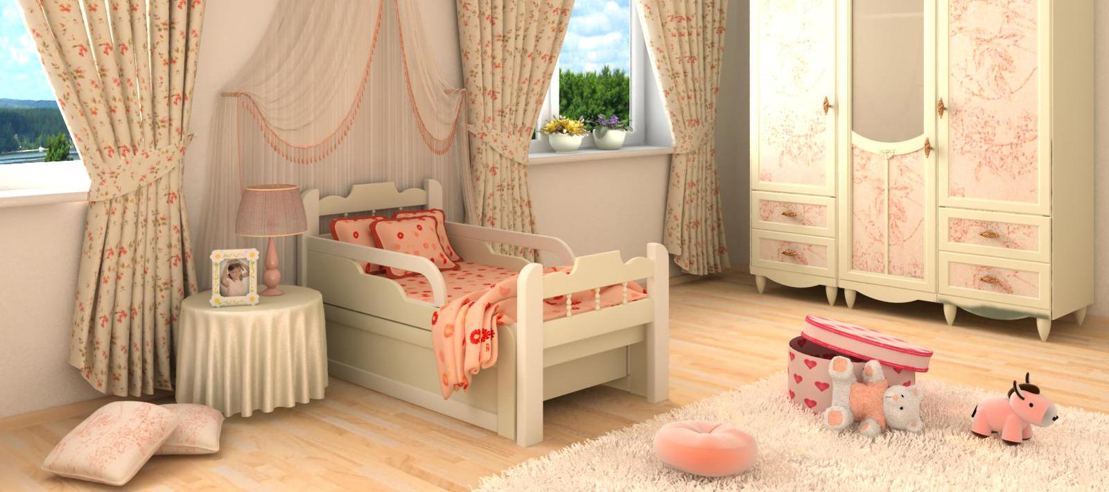 Раздвижные кровати в детскую: мебель, которая растет вместе с ребенком