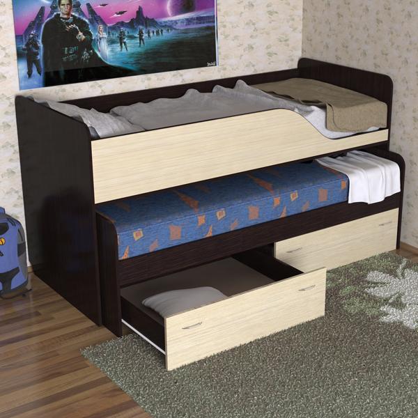 выкатная подростковая кровать