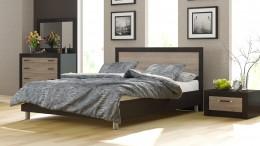 Двуспальная королевская кровать – сердце супружеской спальни