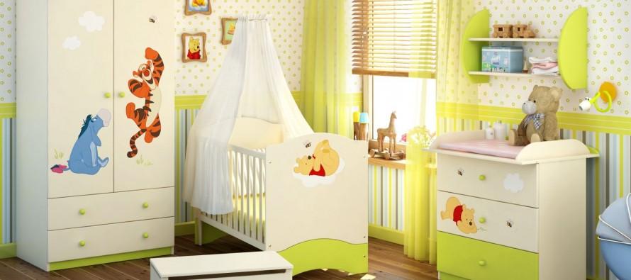 Комод в детской комнате