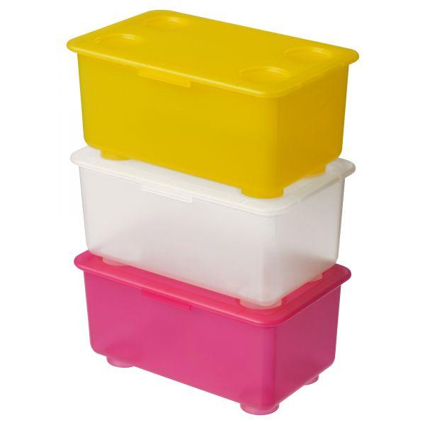 Контейнеры для хранения игрушек икеа