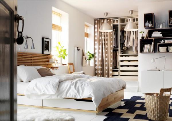Кровать Икеа с МДФ