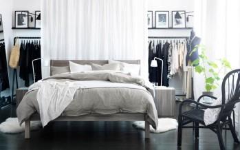 Кровати в спальню от Икеа