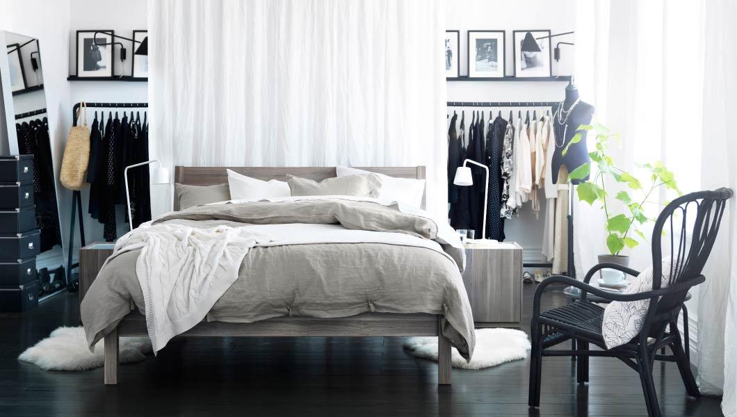 Кровати от Икеа – разнообразные модели на любой вкус и в любую спальню