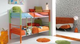 Металлические двухъярусные кровати в детскую – прочность и надежность