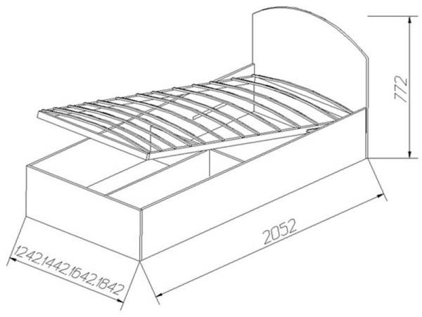 Инструкция по созданию подъемной кровати