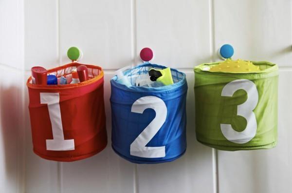 Система для хранения игрушек Кусинер от ИКЕА