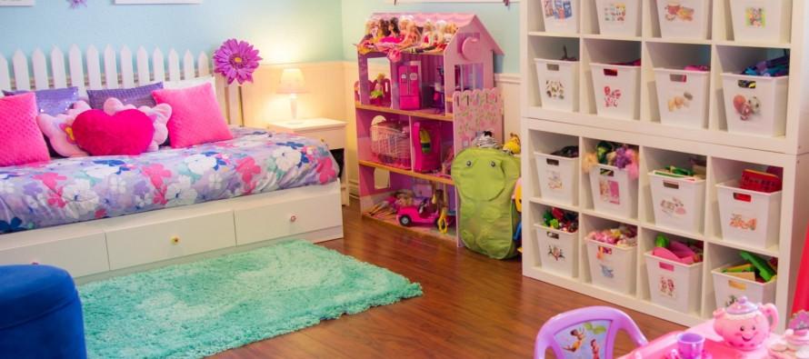 Системы хранения для игрушек от фирмы Икеа
