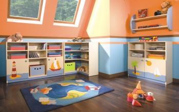 Системы хранения игрушек в детскую комнату