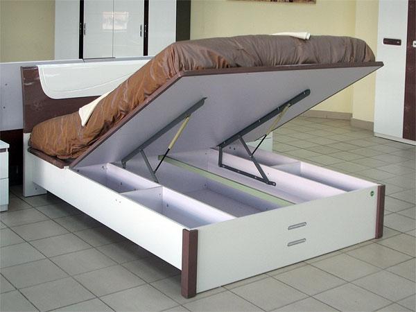 как убрать скрип кровати с подъемным механизмом
