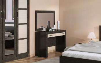 Ставим туалетный столик с зеркалом в спальню
