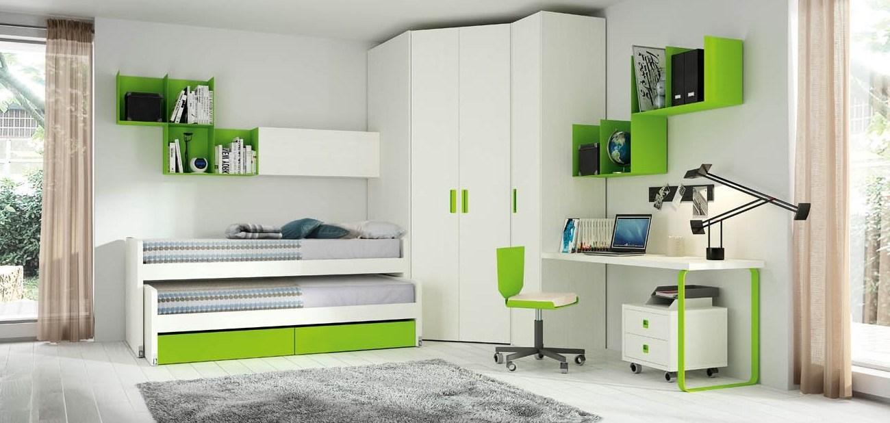 Выдвижные кровати в детской – удачное решение нескольких задач