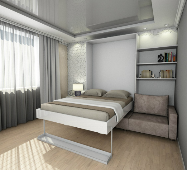 шкаф кровать современная