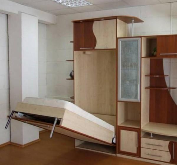 шкаф кровать в стенке