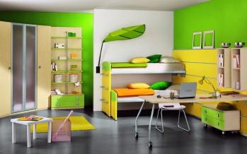 шкаф-купе в детскую комнату малышу