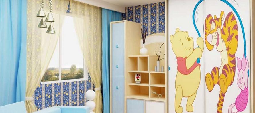 выбираем детский шкаф в детскую комнату