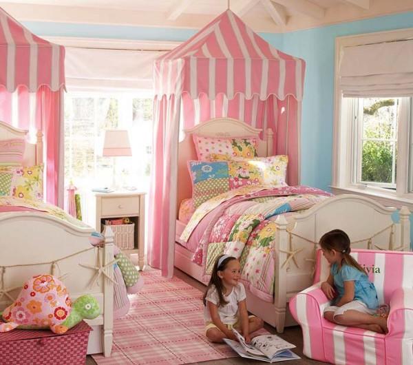 Балдахин над кроватью ребенка от 3-х лет