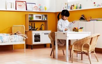 Детские столики икеа в интерьере детской