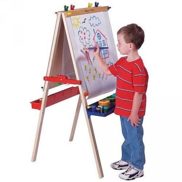 Детский мольберт для рисования красками
