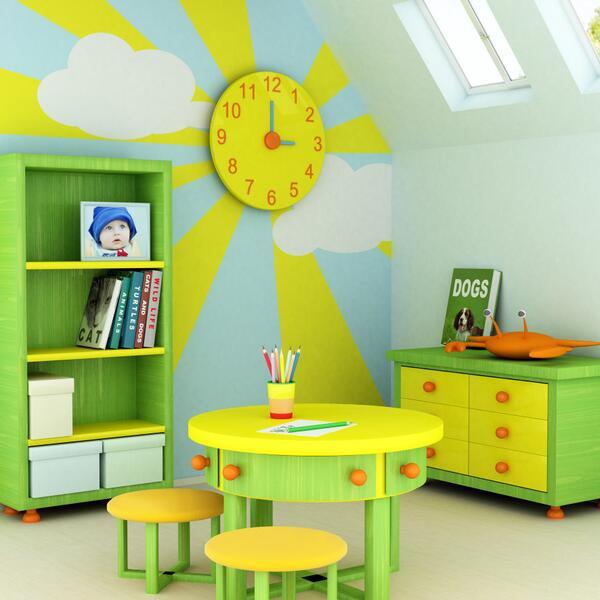 Оформление игровой комнаты в детском саду фото своими руками 84