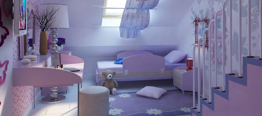 Детское трюмо в комнате