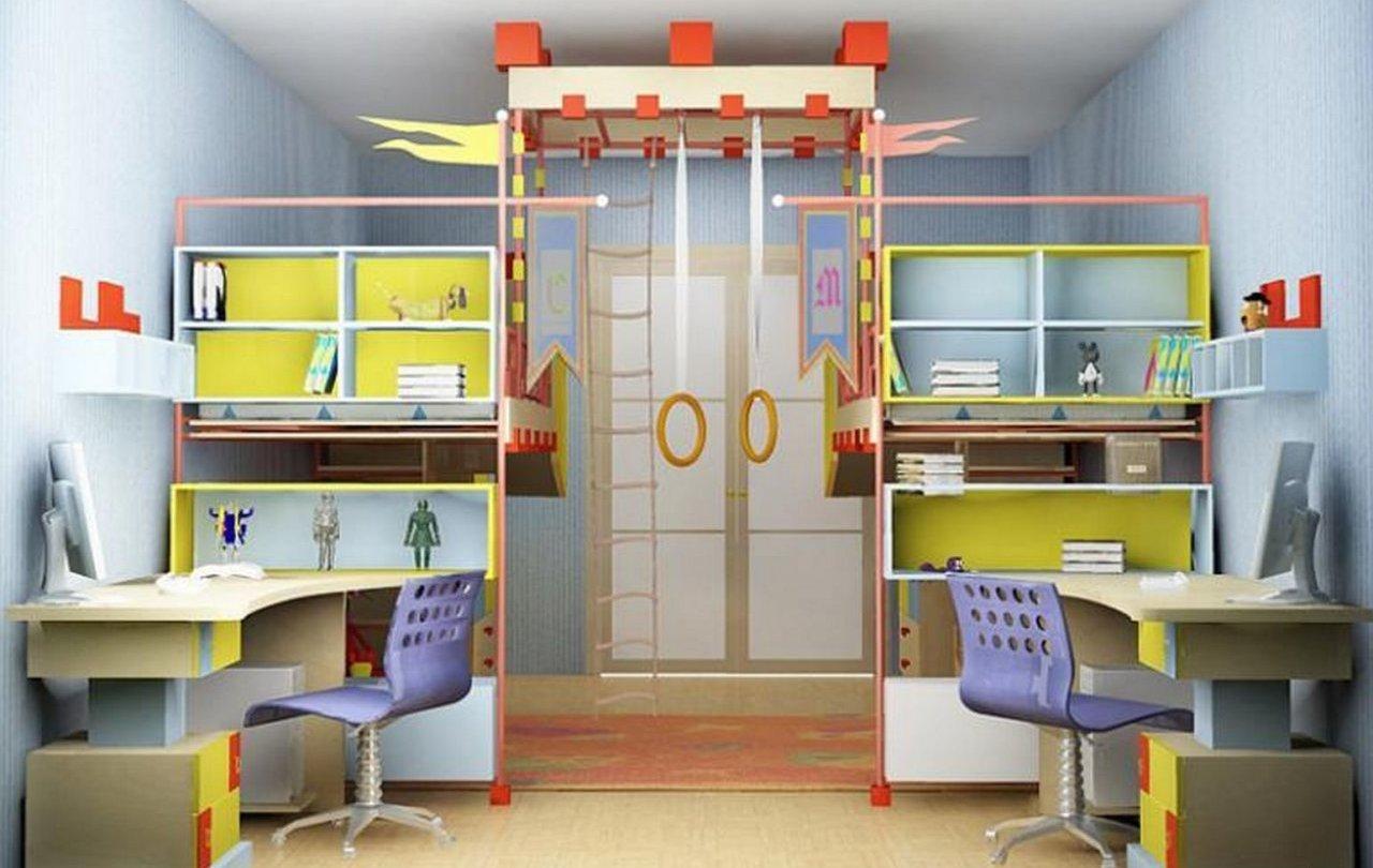 Детский спортивный уголок в комнату ребёнка: счастье и здоровье для непоседы