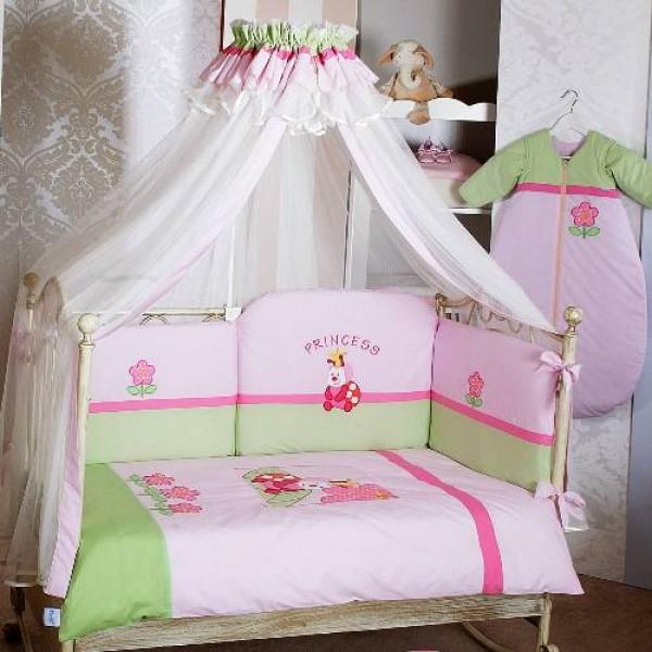 Фото балдахина на детскую кроватку