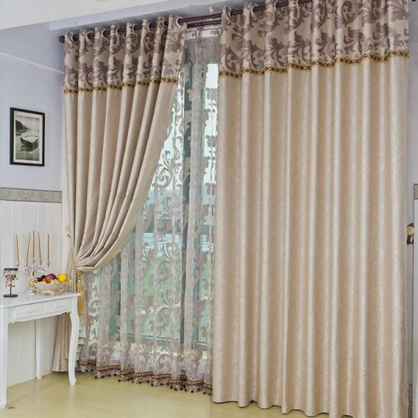 Фото штор для гостиной на одно окно