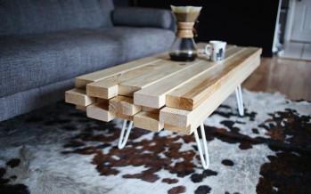 Фото журнального столика из дерева своими руками для вашей гостиной