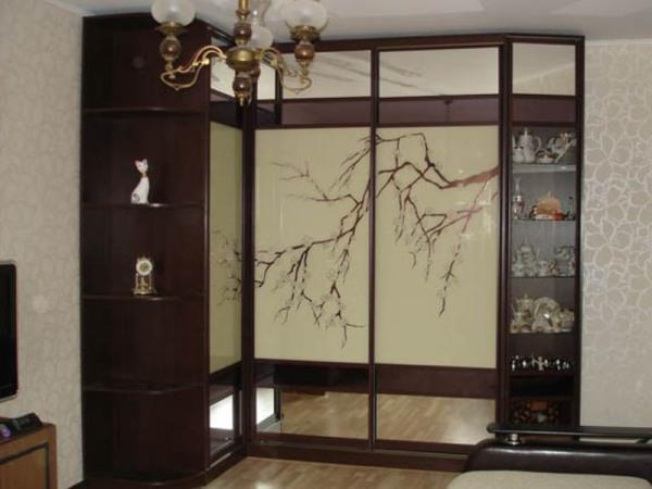 навесные шкафы для кухни узкие
