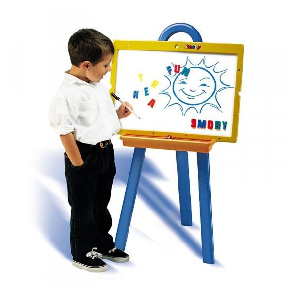 Мольберт детский с комбинированной доской