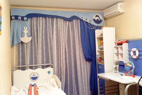 Шторы в детскую комнату для мальчика своими руками