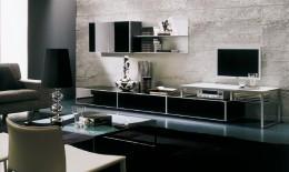 Стенка под телевизор в гостиную: яркие фото, особенности, преимущества и целесообразность покупки