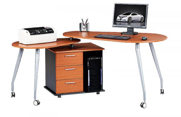 Письменный стол-трансформер для двоих детей