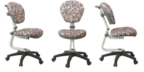 Регулируемый по высоте детский стул