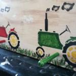 Рисунки-тракторы