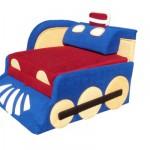 Сине-красный паровозик