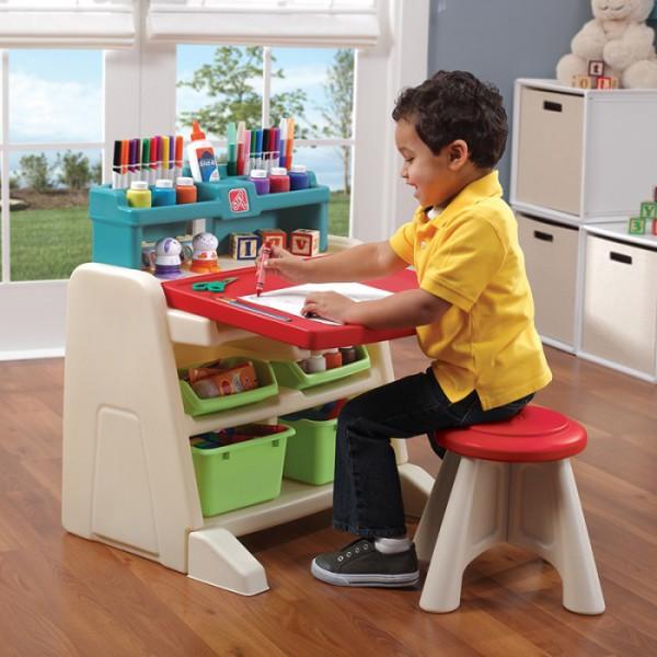 Складной стол-мольберт для детей