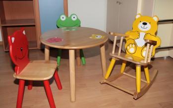 Стулья для малышей и дошкольников яркие