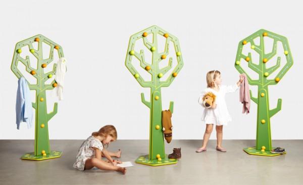 Вешалки-деревья в детскую