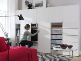 Икеа — стенки для гостиной, сочетающие экологичность, качество и разумную стоимость