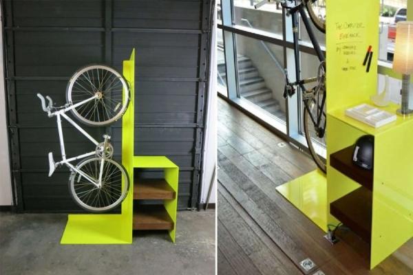 Идеи вертикальных держателей для велосипедов