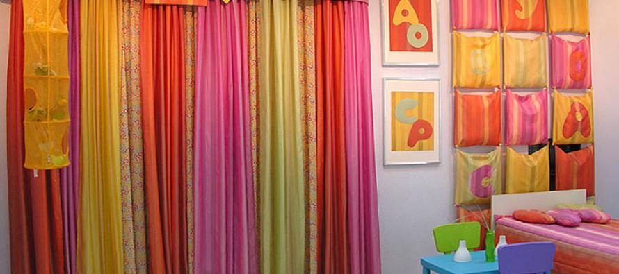 детские шторы для мальчиков и девочек в комнату
