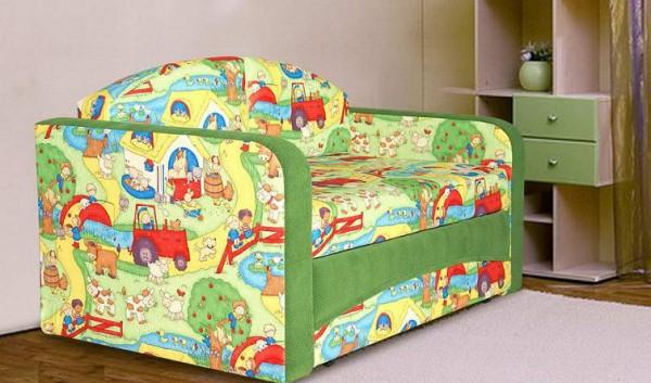 детский диван с бортами